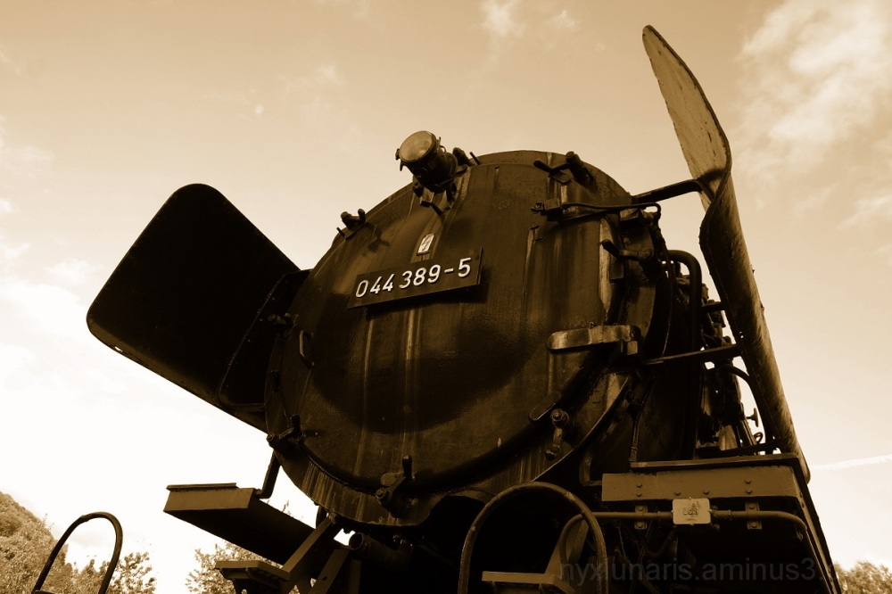 steam loco, train