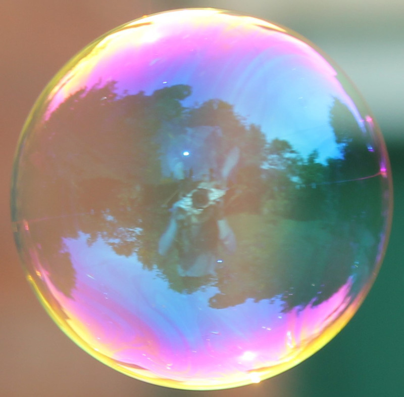 Me in my bubble