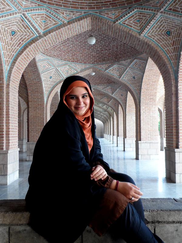 آرام و مسجد کبود :)