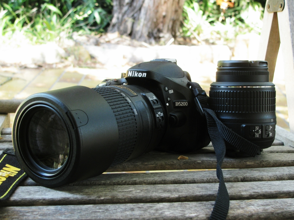 Nikon DSLR 5200, My New Love