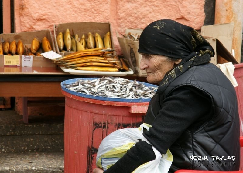 dried fish; Fish ; Georgia; Tbilisi