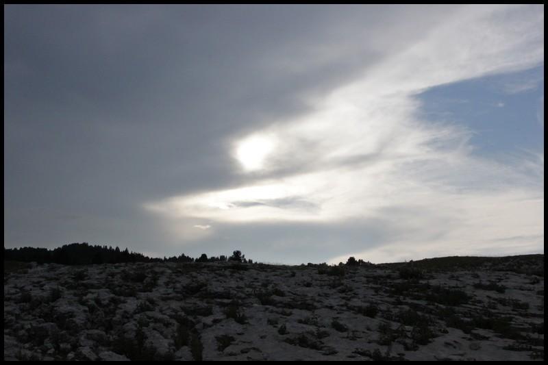 montagne et crépuscule
