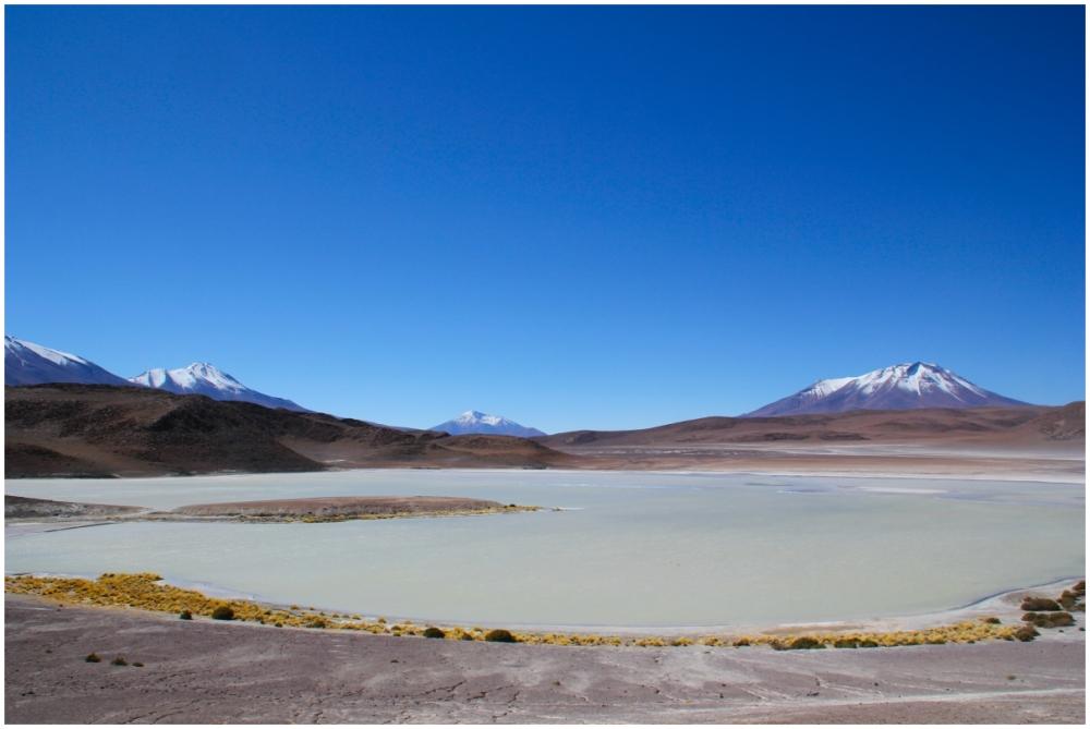 Lagunas  et volcans