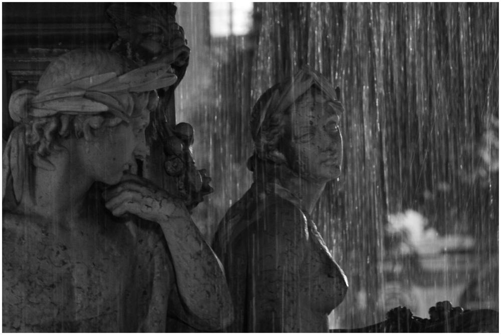 Rencontre sous la pluie