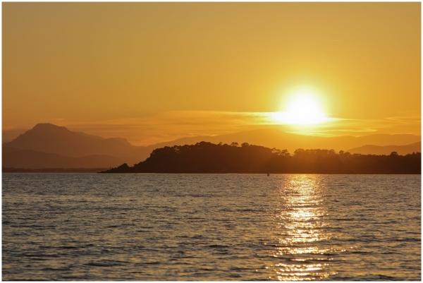 Sunset and holidays