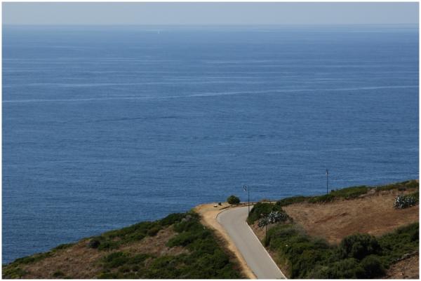 La route sur la mer
