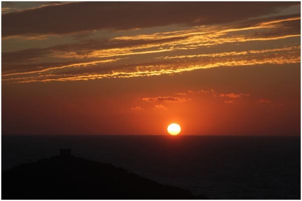 Sunset sur Campomoro