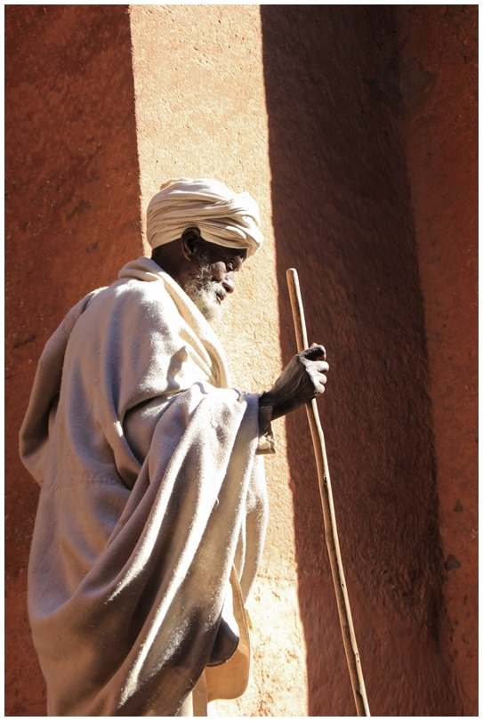 Religieux éthiopien 2/3