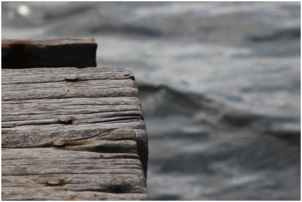 Le vieux ponton en bois