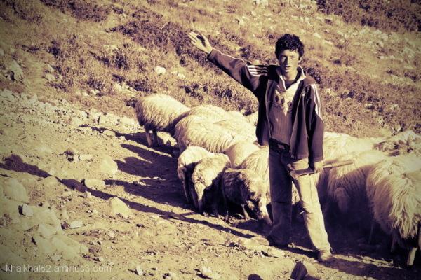 "Photo taken in a road called ""Givra"", Khalkhal"
