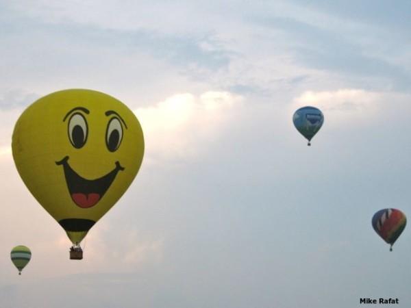 Smily Hot Air Balloon