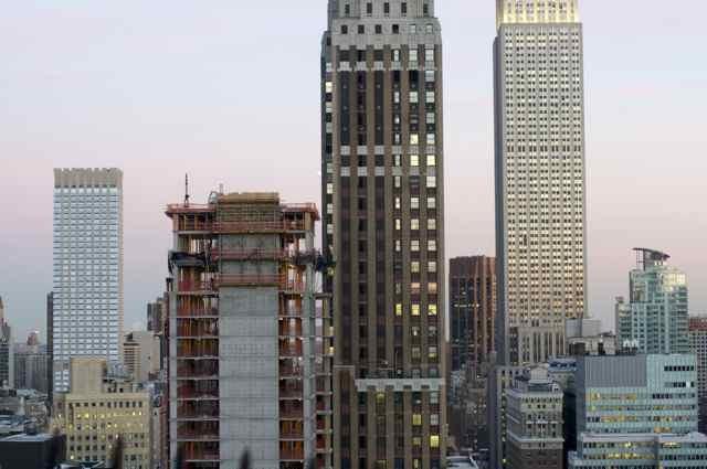 Midtown Manhattan mid day