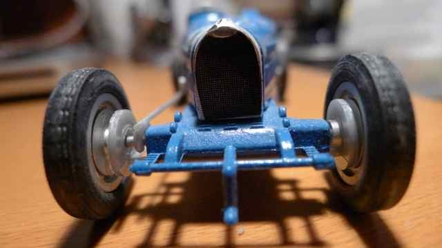 Model bugatti car