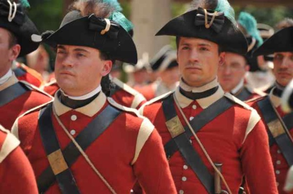 Battle of Monmouth English Army