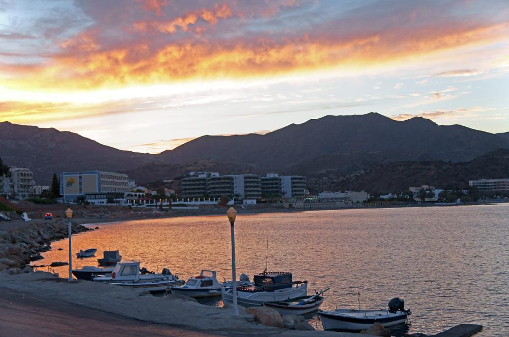 Sunset in Pigadia
