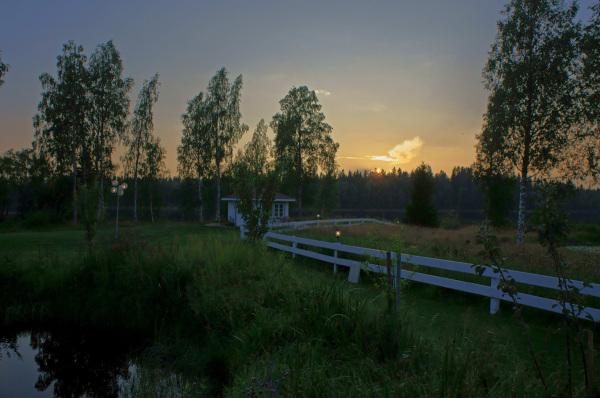 Sunset in Skeppsvik, Part 2