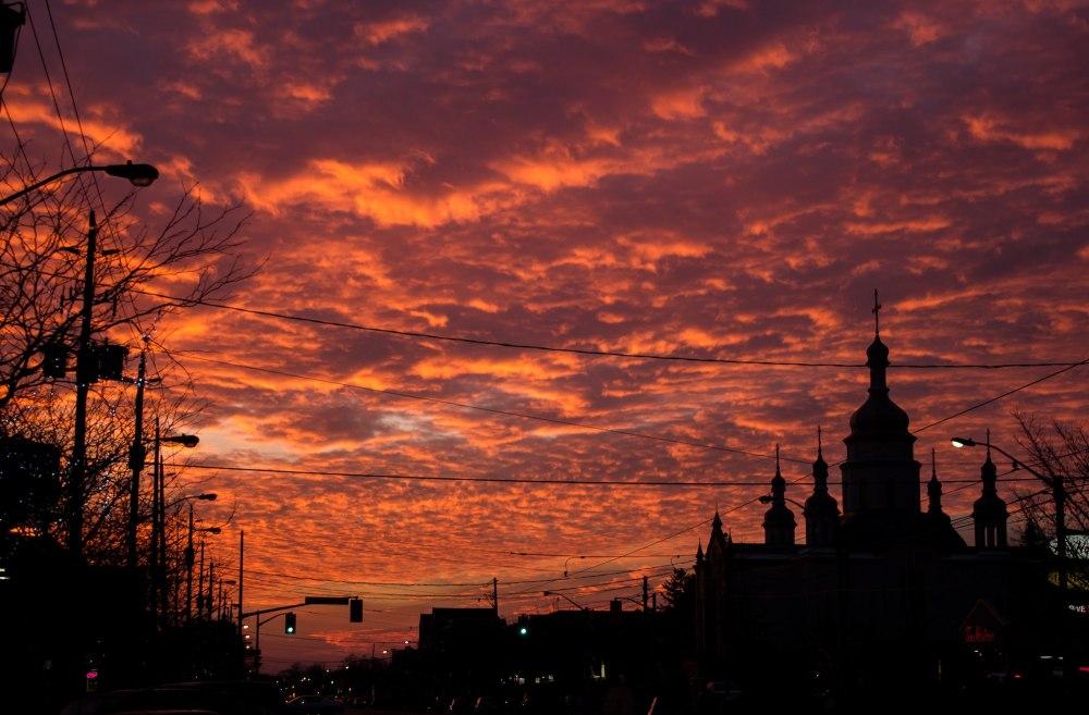 Golden Cloud sunset