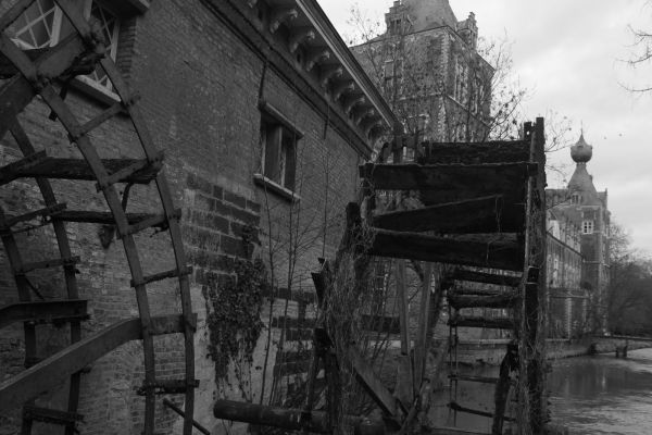Old watermill at Arenbergh castle