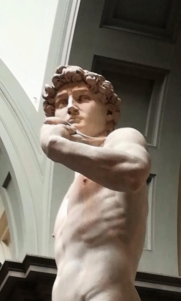 DAVID ( la vraie statue ) Florence