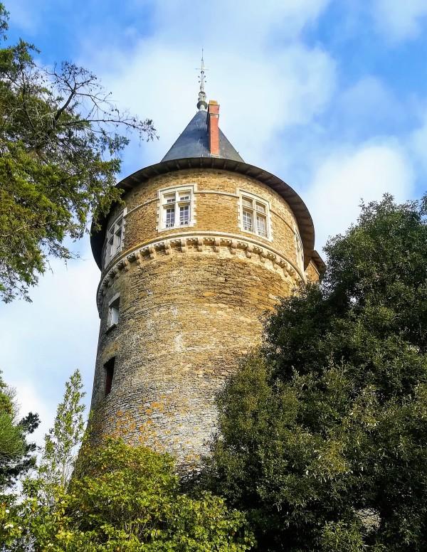 Pornic  - le chateau de Barbe Bleue