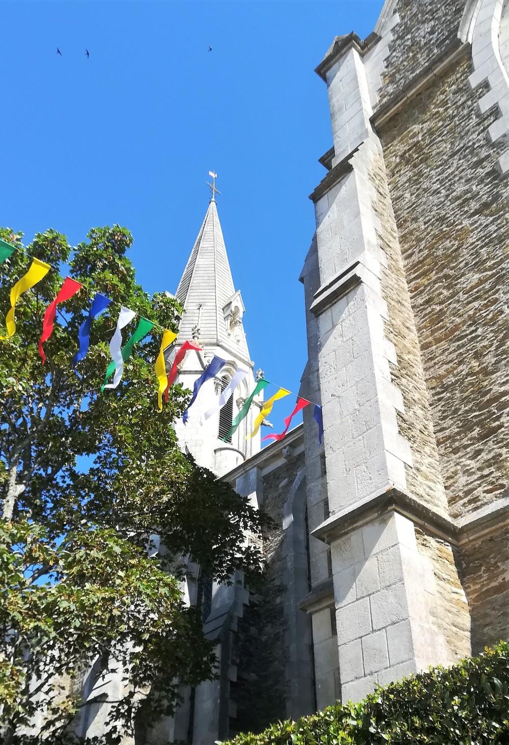 14 juillet ....autour de l'église de Ste Marie