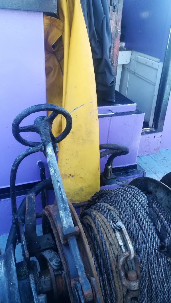 Un outil de travail pour le marin pêcheur