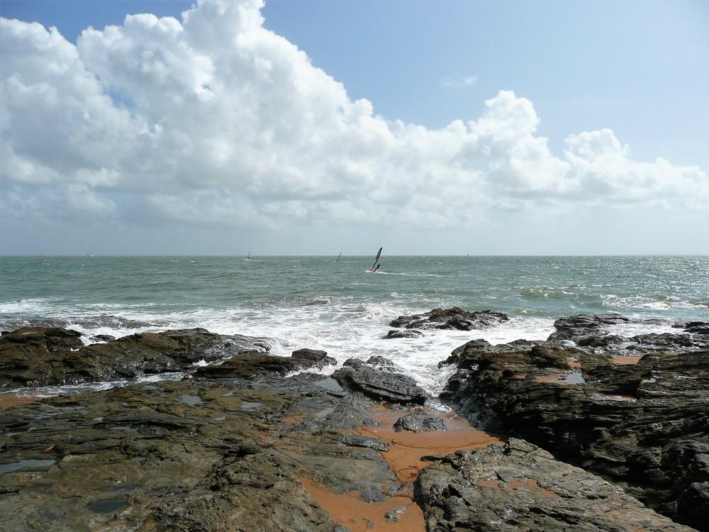 Après la fête, retour au bord de l'océan