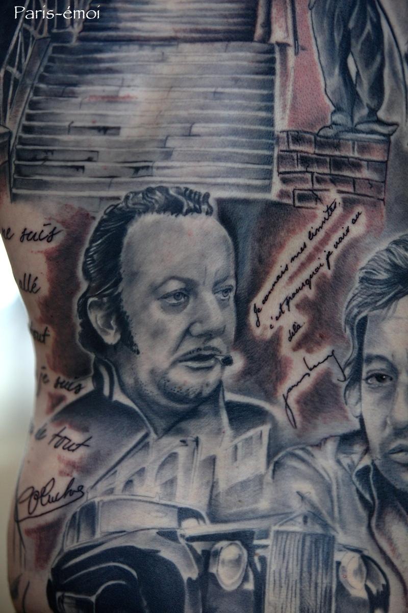 Tattoo Coluche