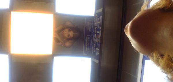 elevator mirror ceiling