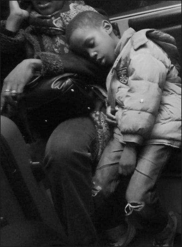 Enfant noir endormi
