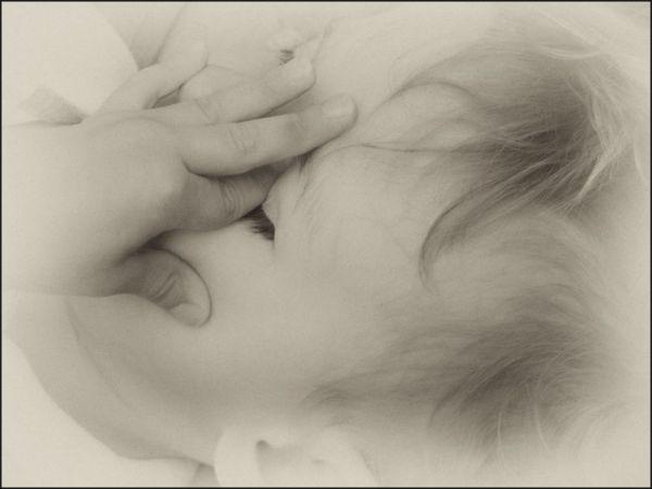 Enfant ensommeillé