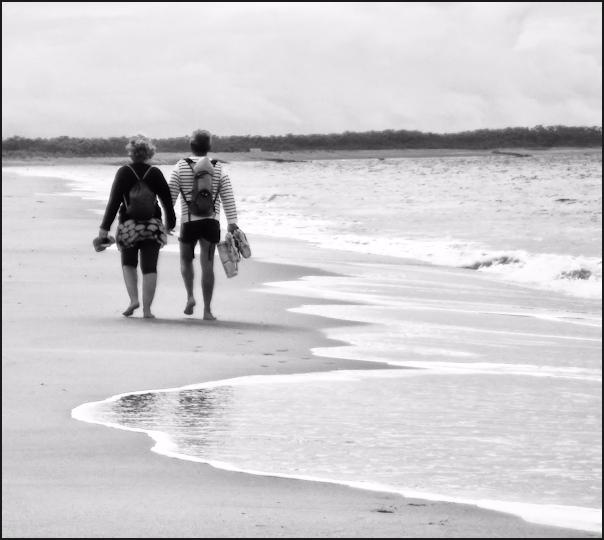 Les amants du bord de mer