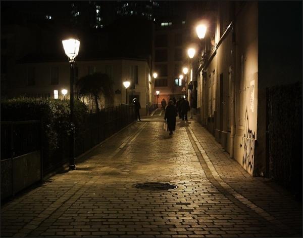 Dans une rue de Paris