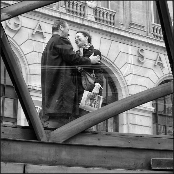Les amoureux de la gare