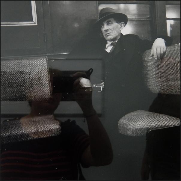 Autoportrait au métro de Stettner