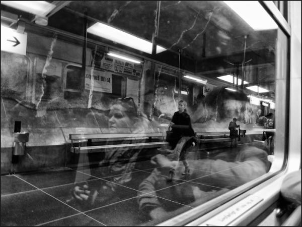 Un métro ailleurs