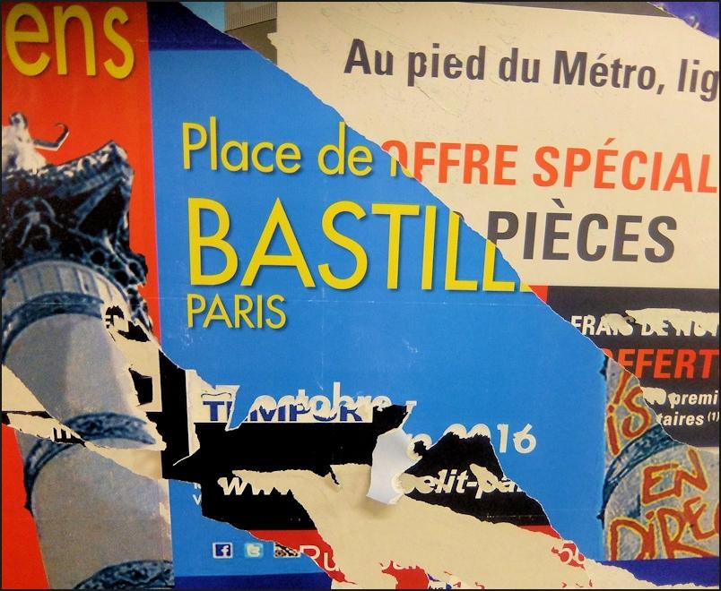 La Bastille en pièces