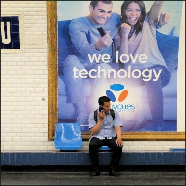 He loves technology ?