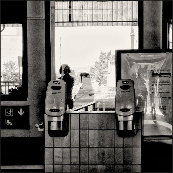 La gare d'Angoulême