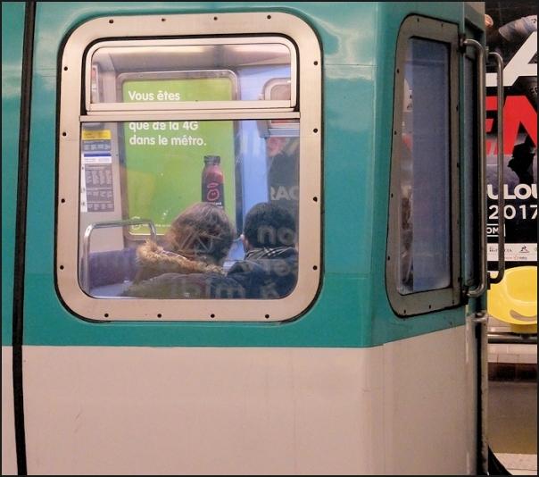 Vous êtes dans le métro