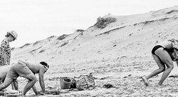 Quitter la plage