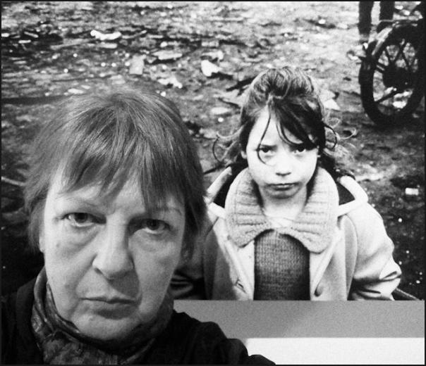 Autoportrait à la petite Irlandaise
