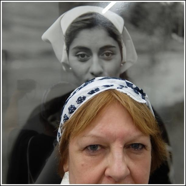 Autoportrait à la nonne polonaise
