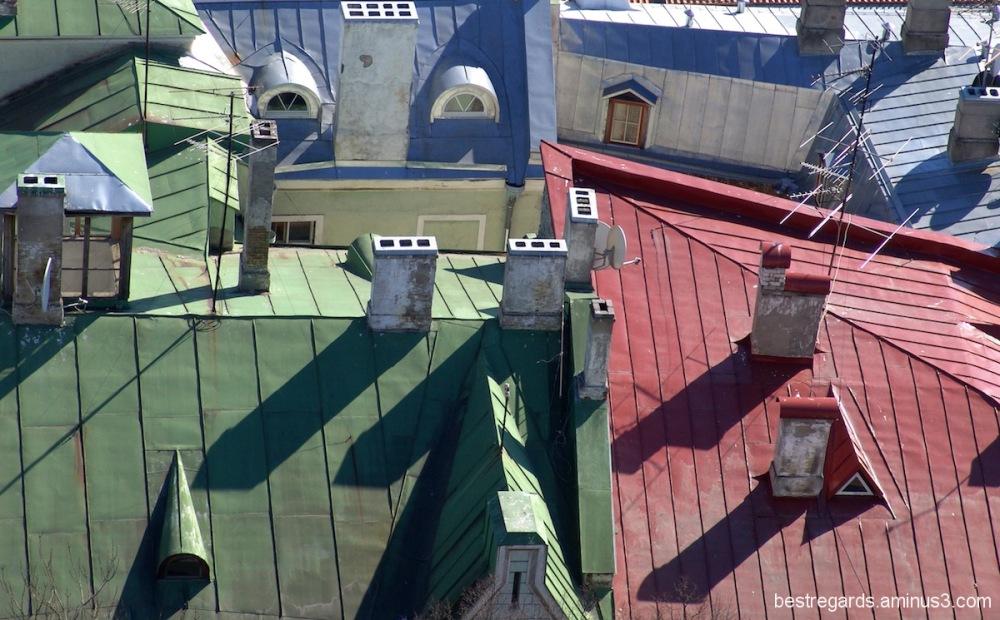 histoire de toits  à Tallinn 2
