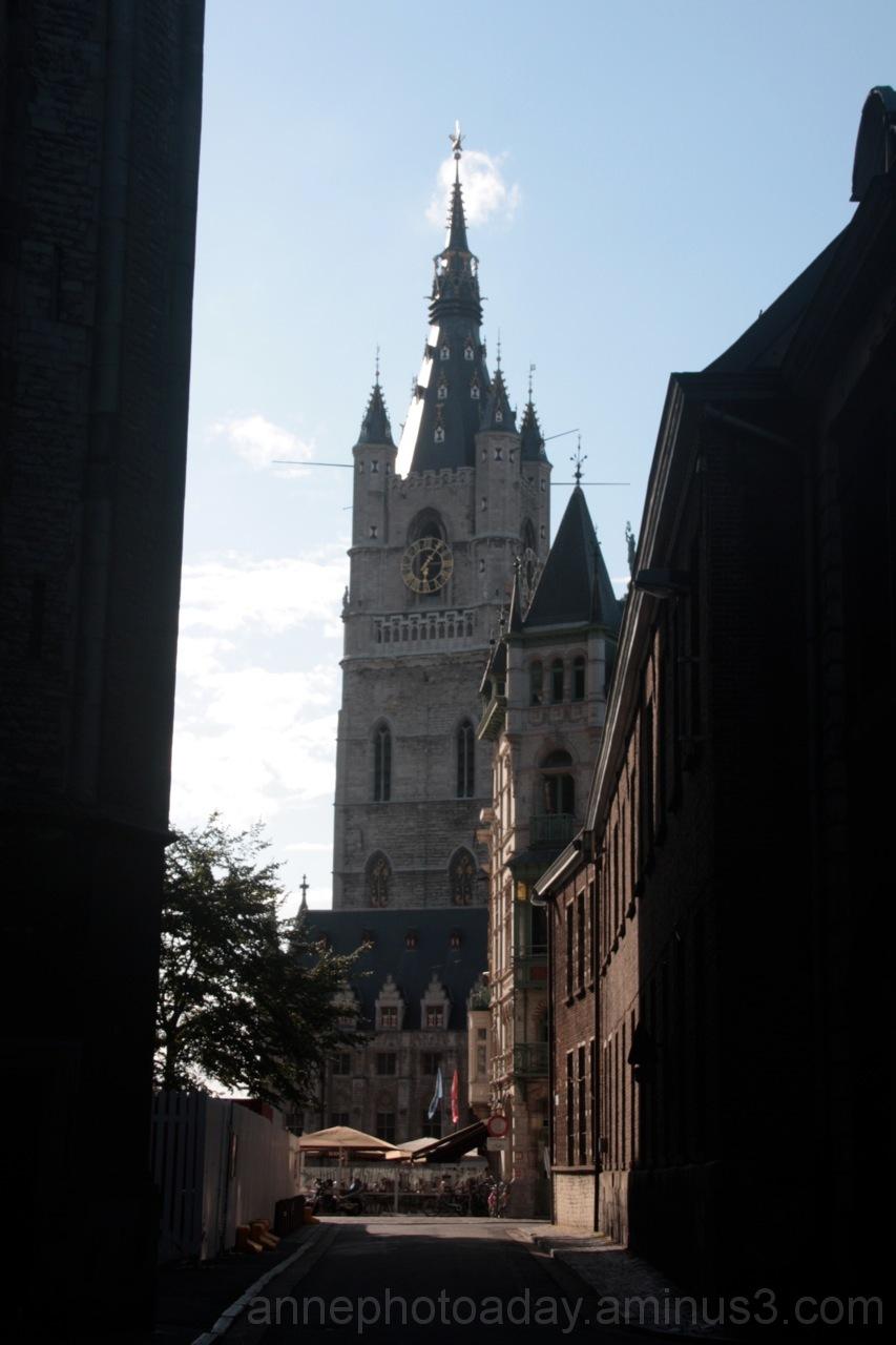 Ghent church view
