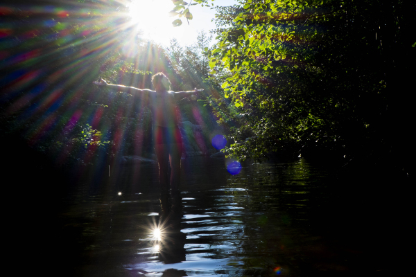 """""""Et au milieu coule une rivière..."""""""