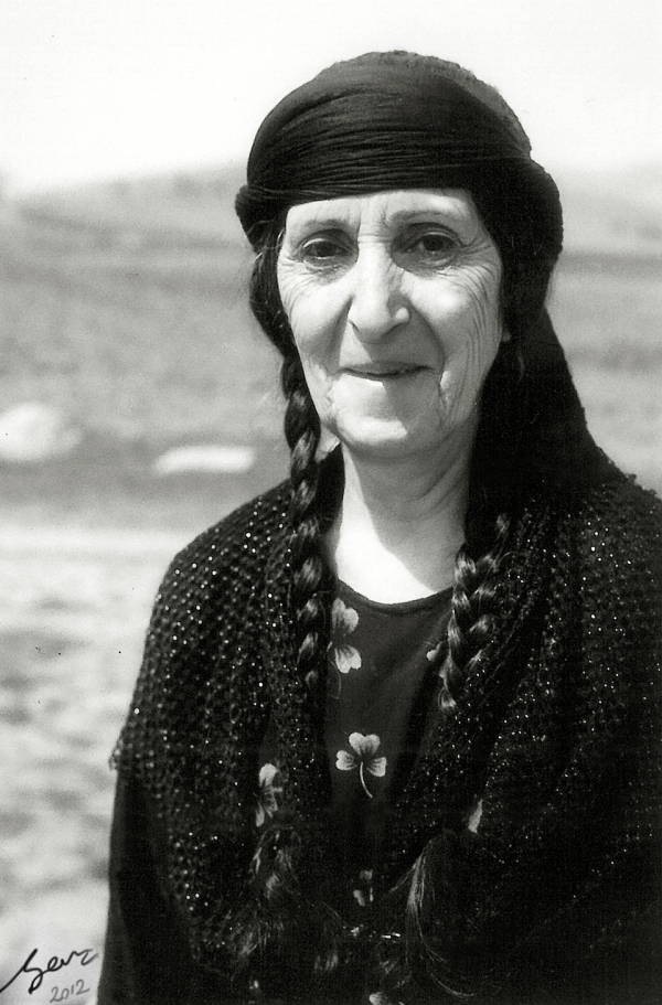 the kurdish woman