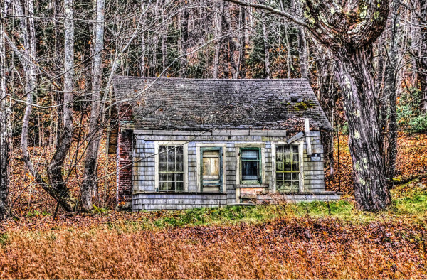 Woodman's cabin, White Mountains, New Hampshire