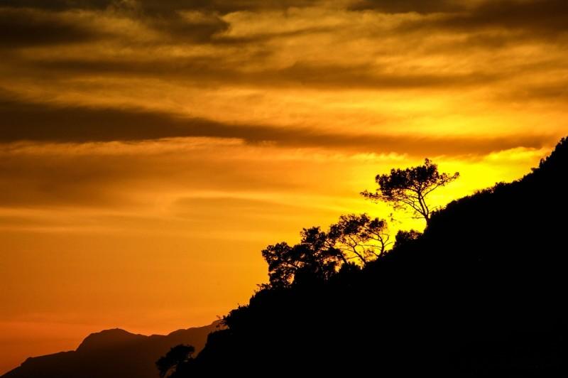 A Golden Sunset, Guzelcamli, Turkey