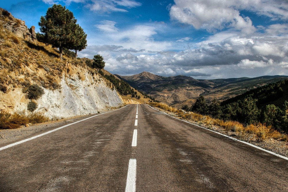 The Road To Vera, Almeria Region Spain.